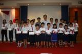 Công ty TNHH Yazaki Eds Việt Nam tặng sách và học bổng cho học sinh