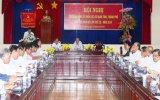 Giao ban Đảng ủy khối các tỉnh, thành khu vực phía Nam