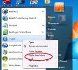 Cá nhân hóa cho menu Start trong Windows 7
