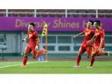 Vòng loại bóng đá nam, bảng H, ASIAD 17: Olympic Việt Nam và vai trò chi phối