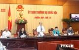 Khai mạc phiên họp thứ 31, Ủy ban Thường vụ Quốc hội khóa XIII