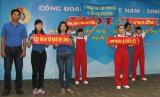 """Công đoàn Khu công nghiệp VSIP tổ chức hội thi """"An toàn, vệ sinh viên giỏi"""""""