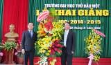 Trường Đại học Thủ Dầu Một khai giảng năm học mới 2014-2015