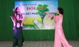 Hội thi Tiếng hát phụ nữ mãi xanh TP.TDM năm 2014