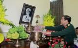 Lãnh đạo Bộ Quốc phòng dâng hương Đại tướng Võ Nguyên Giáp