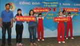 """Công đoàn Khu công nghiệp Việt Nam - Singapore:  Tổ chức hội thi """"An toàn,  vệ sinh viên giỏi"""" năm 2014"""