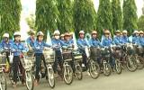 """Tổ chức chương trình  """"Chạy xe đạp vì an toàn giao thông"""""""