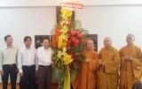 Sở Nội vụ tỉnh: Tổ chức đoàn thăm và chúc mừng Hội đồng Trị sự Giáo hội Phật giáo Việt Nam