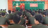 Công an tỉnh: Khai giảng lớp huấn luyện công dân phục vụ có thời hạn đợt II-2014