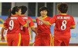 Kết thúc vòng loại bóng đá nữ, ASIAD 17: Thắng Hồng Kông 5-0, Việt Nam gặp Thái Lan tại tứ kết