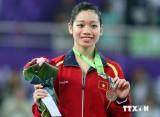 Việt Nam duy trì vị trí thứ 12 trên bảng tổng sắp huy chương ASIAD