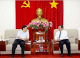 Lãnh đạo tỉnh tiếp đoàn công tác của Bộ Ngoại Giao