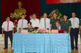 Quân đoàn 4: Ký kết nghĩa với Tập đoàn Công nghiệp Cao su Việt Nam