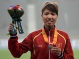 Bùi Thị Thu Thảo bất ngờ đoạt HCB nhảy xa