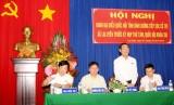 Đoàn Đại biểu Quốc hội tỉnh tiếp xúc cử tri ở huyện Bàu Bàng, Phú Giáo và TX.Bến Cát