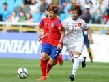 Nữ Việt Nam thua Hàn Quốc 0-3 trong trận tranh huy chương đồng