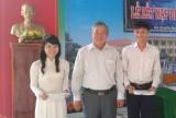 Trường THPT Thường Tân (Bắc Tân Uyên): Kết nạp Đảng cho 2 học sinh
