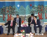 Tổng Bí thư Nguyễn Phú Trọng thăm thành phố cảng Busan