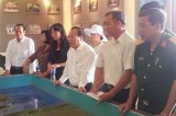 Chủ tịch UBND tỉnh làm việc tại khu di tích Sở chỉ huy tiền phương Chiến dịch Hồ Chí Minh