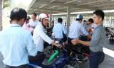 Trung tâm hành chính tập trung tỉnh triển khai bãi giữ xe miễn phí