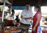 Chiến dịch cải thiện an toàn thực phẩm thức ăn đường phố:  Xây dựng hình tượng người bán hàng văn minh
