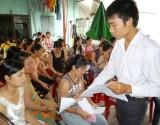 Phường An Phú, TX.Thuận An: Thanh niên công nhân tham gia bảo vệ an ninh trật tự