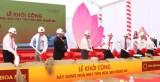 Tập đoàn Hoa Sen khởi công xây dựng nhà máy tại Nghệ An