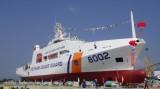 Hạ thủy tàu Cảnh sát biển hiện đại 8002