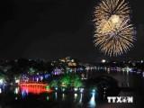 Hà Nội bắn pháo hoa chào mừng Giải phóng Thủ đô tại 30 điểm