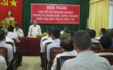 Chủ tịch UBND tỉnh Lê Thanh Cung: Tỉnh sẽ tạo mọi điều kiện thuận lợi nhất cho doanh nghiệp