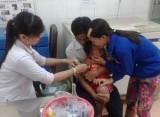 Phường Hiệp Thành, TP.Thủ Dầu một: Tiêm chủng vắc xin sởi, rubella cho hơn 2.000 học sinh