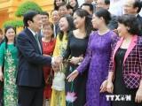 Chủ tịch nước gặp mặt 100 doanh nhân Việt Nam tiêu biểu