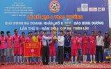 Chung kết giải bóng đá Doanh nhân mở rộng - Báo Bình Dương, cúp Đại Thiên Lộc lần II: Gỗ Võ Gia đoạt cúp vô địch