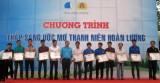 Hội LHTN tỉnh: Tổ chức chương trình Thắp sáng ước mơ hoàn lương