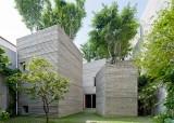 Nhà 5 khối phủ cây xanh của VN thắng giải kiến trúc thế giới