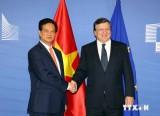 Thúc đẩy toàn diện hơn nữa quan hệ hợp tác Việt Nam-EU
