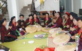 CLB văn hóa Kinh Bắc: Họp mặt và tặng hoa cho các liền chị nhân kỷ niệm ngày 20-10