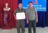Bình Dương: Nhiều cá nhân nhận giấy khen của Giám đốc Công an tỉnh