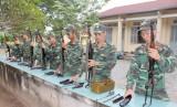 Chiến sĩ trinh sát (Bộ Chỉ huy Quân sự tỉnh): Huấn luyện giỏi, rèn luyện nghiêm
