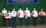 Cuộc thi sáng tạo dành cho thanh thiếu niên nhi đồng tỉnh lần X: Nguyễn Thiên Trang đạt giải nhất