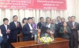 Đoàn Đại biểu UBMTTQVN tỉnh Bình Dương thăm và làm việc tại tỉnh Champasak (Lào)