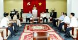 Chánh Văn phòng Trung ương Đảng thăm và làm việc tại Bình Dương