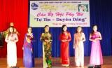 """Hội LHPN TX.Thuận An: Tổ chức hội thi cán bộ hội phụ nữ """"Tự tin - duyên dáng"""""""