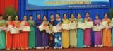 Huyện Bắc Tân Uyên: Tuyên dương 35 chi trưởng, tổ trưởng phụ nữ