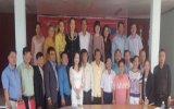 Đoàn đại biểu tỉnh Bình Dương thăm kiều bào Việt Nam tại tỉnh Champasak - Lào