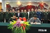 Quân đội Việt-Trung ký ghi nhớ kỹ thuật lập đường dây liên lạc
