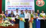 """Liên đoàn Lao động TX.Thuận An: Khen thưởng 160 nữ công nhân viên chức, lao động đạt danh hiệu """"Giỏi việc nước - đảm việc nhà"""""""