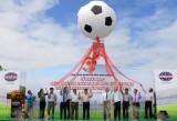 Khai mạc giải bóng đá thành phố mới Bình Dương, tranh cúp Becamex IDC lần 9 năm 2014