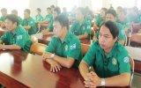 Tập huấn ứng cứu nhanh tai nạn giao thông năm 2014 cho các đội hình thanh niên tình nguyện