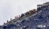 Gần 4.000 người Nhật dự diễn tập ứng phó núi lửa Phú Sĩ phun trào